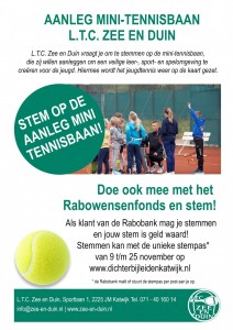 Flyer-mini-tennisbaan